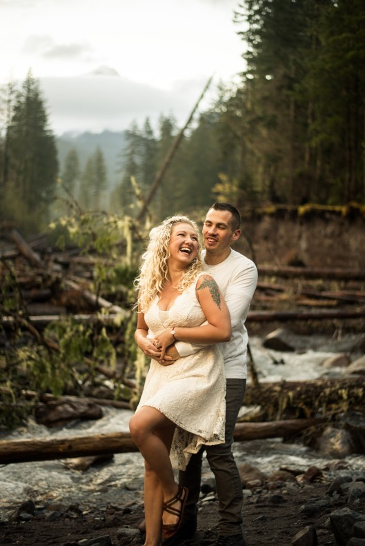 PNW wedding engagement oregon beer wine waterfall adventure-2