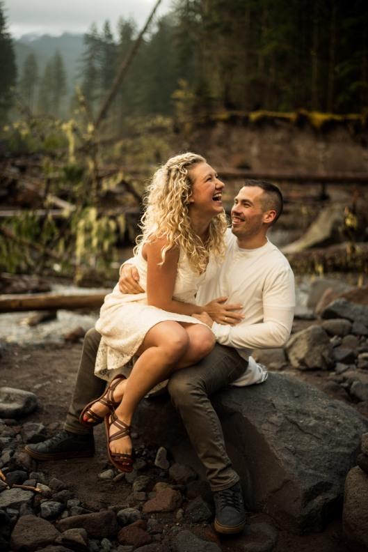 PNW wedding engagement oregon beer wine waterfall adventure-3