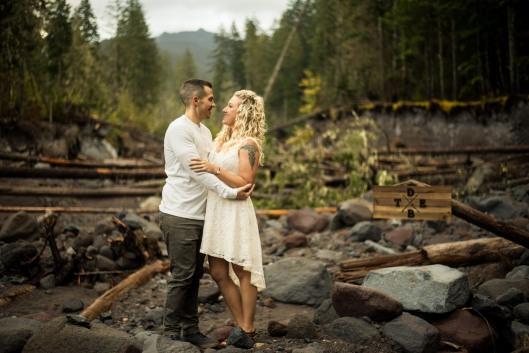 PNW wedding engagement oregon beer wine waterfall adventure-8